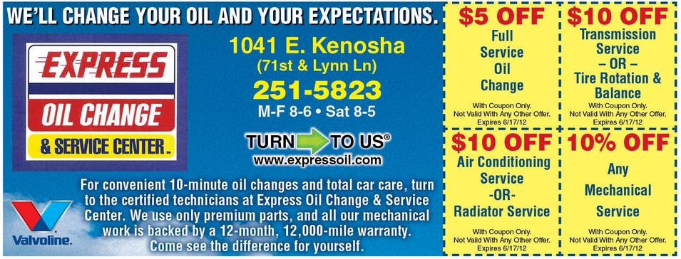 looking for express oil change coupons when you present a coupon in any establishment hoping for savings you have to be smart and focused enough to avoid pitfalls that befall some customers solutioingenieria Choice Image